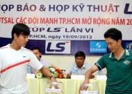 Họp kỹ thuật và họp báo Giải Futsal các đội mạnh TPHCM mở rộng năm 2012 – Cúp LS lần VI