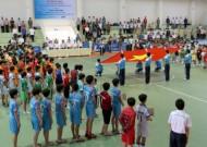 Khai mạc giải đấu Futsal học sinh THCS lần IV – Cúp Thái Sơn Nam năm học 2012 – 2013