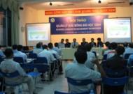 Hội thảo quản lý giải bóng đá học sinh