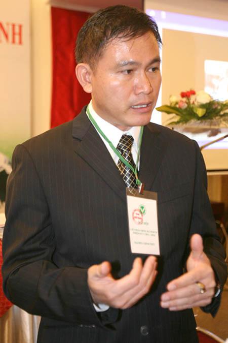 Ông Trần Anh Tú – Tân Chủ tịch Liên đoàn bóng đá TPHCM.