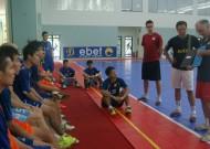 Futsal Thái Sơn Nam chuẩn bị vòng loại CLB châu Á tại Malaysia