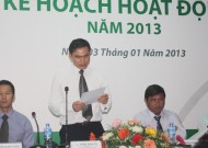 Press conference to announce action plans in 2013 of Ho Chi Minh City Football Federation