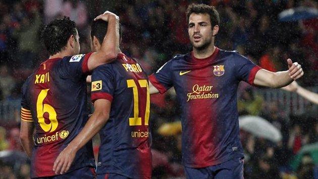 Eurosport - Barcelona - Xavi, Pedro, Fabregas