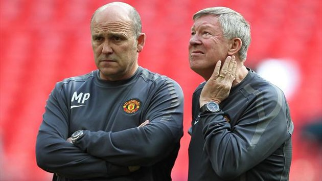 Eurosport - Mike Phelan and Sir Alex Ferguson (PA Photos)