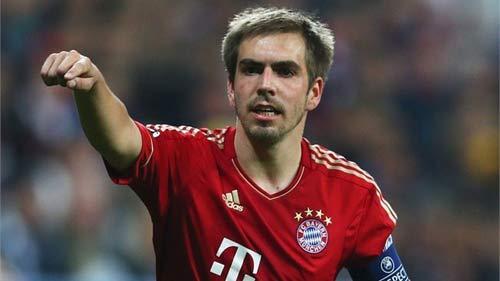 Lahm đang có một mùa giải thành công cùng Bayern
