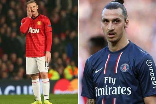 PSG chiêu mộ Rooney để thay thế cho Ibra?