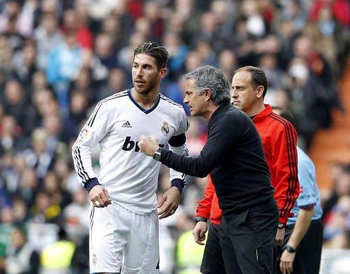 Ramos đã có những suy nghĩ tích cực về Mourinho