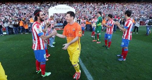 Messi và đồng đội ra sân với vị thế mới.