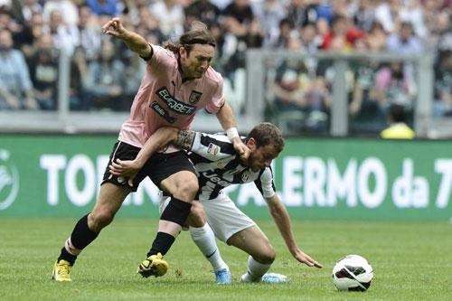 Juve đã có hiệp thứ nhất khó khăn