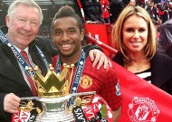 Candice Falzon WAG link to Manchester United star Anderson, tweeting pictures from Old Trafford