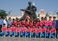 Lễ xuất quân bóng đá nữ TP HCM: