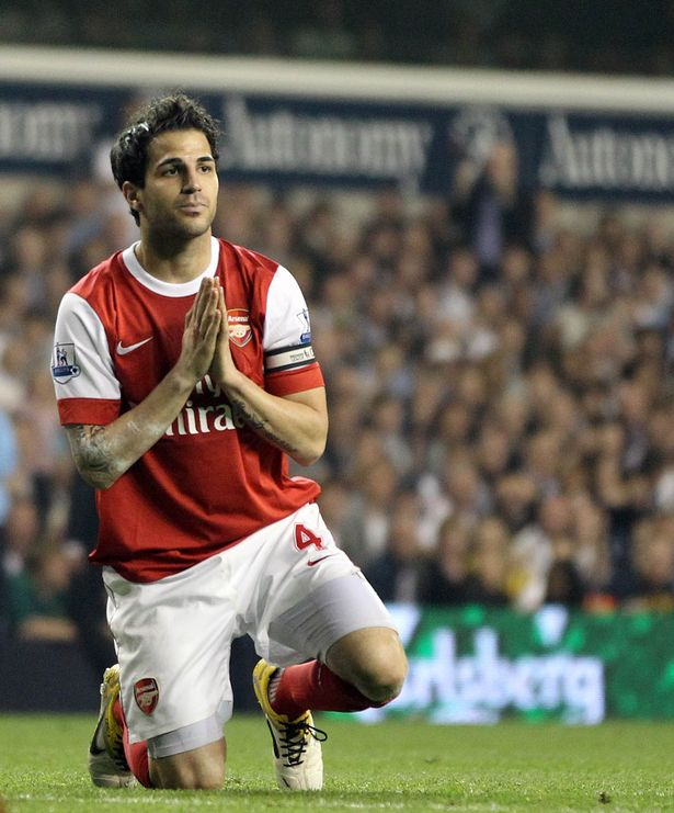 Clause for concern: Arsenal aren't considered likely to buy Fabregas back AFP