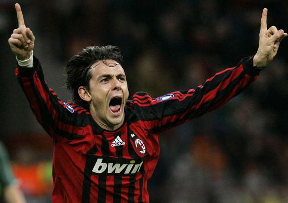Filippo Inzaghi - mẫu tiền đạo cắm thực thụ