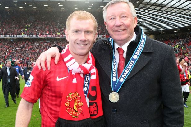 End of two eras: United star Scholes has joined boss Fergie in retirement Matthew Peters / Getty
