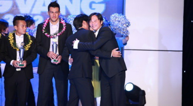 2012 Vietnam Golden Ball Gala