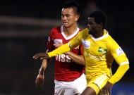 Kết thúc vòng 7 V-League 2013: V.Hải Phòng đứt mạch bất bại, K.Kiên Giang hòa tiếc nuối