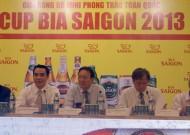 Giải bóng đá mini phong trào toàn quốc – Cup Bia Sài Gòn 2013