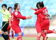 2th Round of 2013 national women's champs - Thai Son Bac cup : Ha Noi I is leading table after defeating present champion Viet Nam coal and mineral.