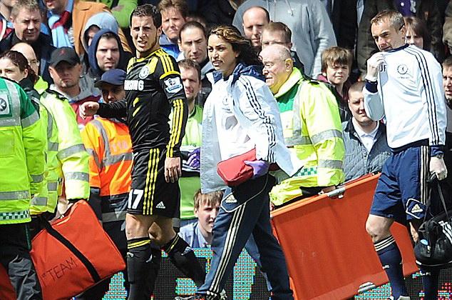 Nhưng Hazard thì khác - Ảnh Getty