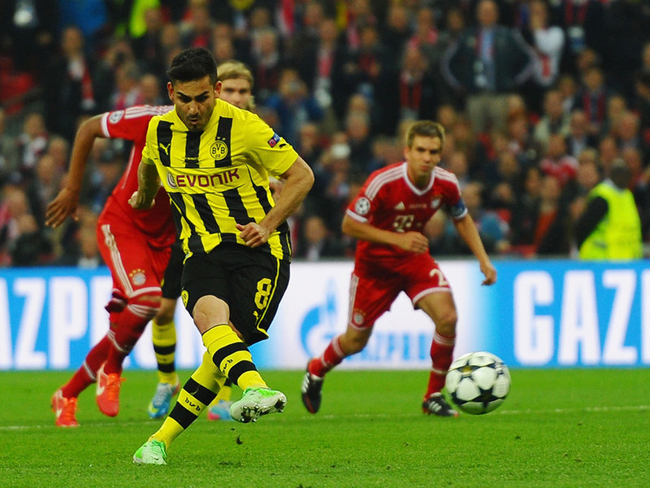 Ilkay Gundogan scored from the spot in the 67th minute to make it 1-1.