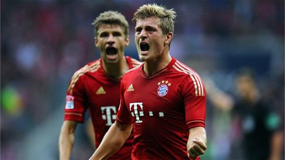 Toni Kroos và Mueller trưởng thành từ học viện của Bayern