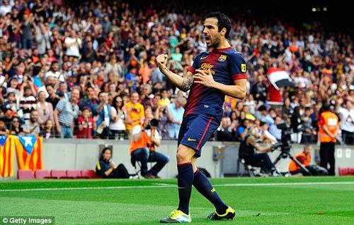 Cesc chưa chắc ở lại với Barca