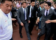 Beckham-mania ends with five injured in Shanghai