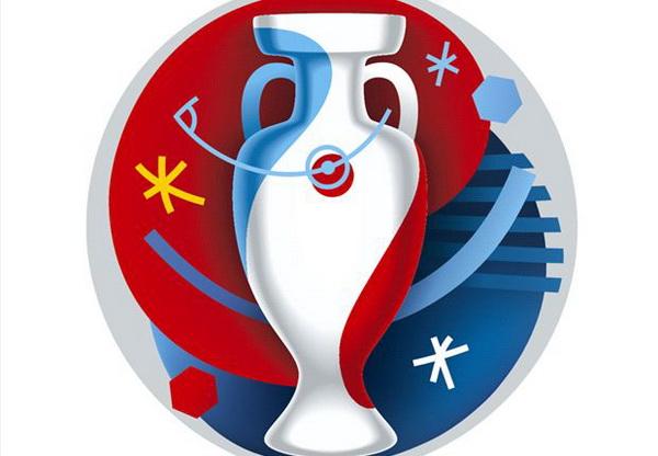 Logo của EURO 2016 - Ảnh: Getty