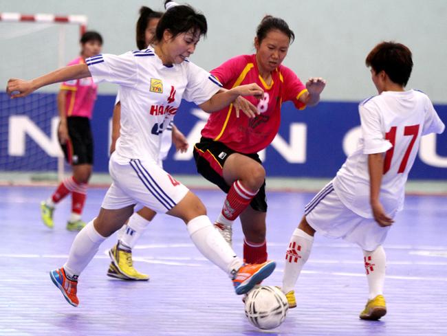 Futsal Nữ đang phát triển mạnh tại Việt Nam