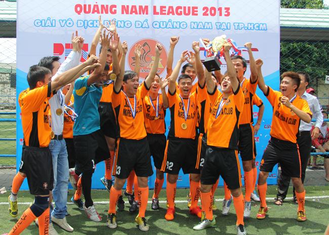Tiên Phước FC vô địch hạng nhất