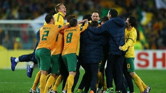 Australia đã có vé đến Brazil 2014