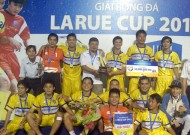 End of 2013 Larue Cup in Ho Chi Minh City: Thu Duc water supply wins highest title.