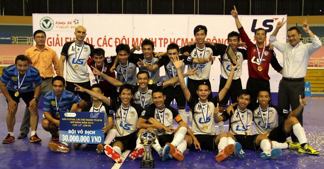Vừa đoạt chức vô địch tại giải Futsal các đội mạnh mở rộng CLB Thái Sơn vững tin tại đấu trường  khu vực