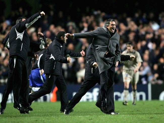 His first season in charge saw more on field celebrations after a famous aggregate victory over Barcelona