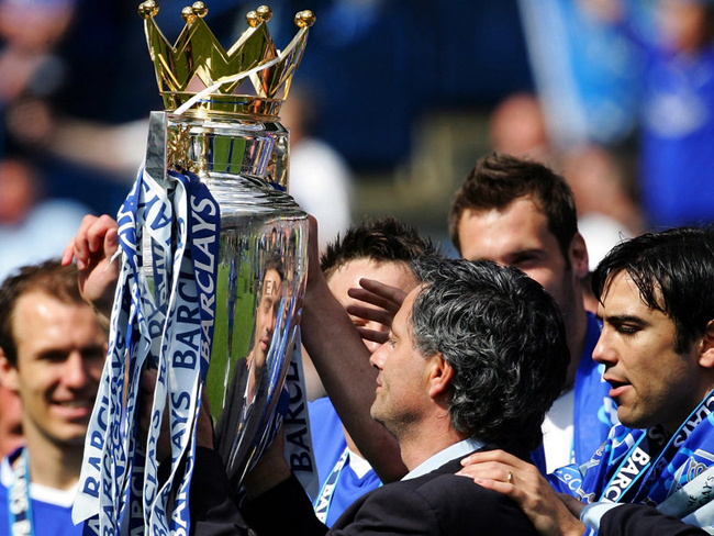 and Mourinho delivered a first title for 50 years to Stamford Bridge