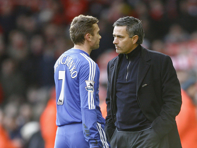 before apparent differences with owner Roman Abramovich over Andriy Shevchenko and stuttering results led to him departing Stamford Bridge in 2007