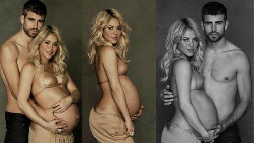 Pique và Shakira đã hẹn hò được gần 3 năm và có với nhau một cậu con trai kháu khỉnh, đáng yêu - bé Milan.