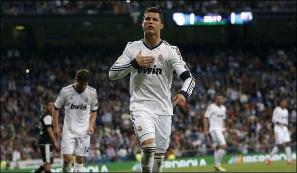 Ronaldo ghi được 55 bàn/55 trận nhưng Real tay trắng trên mọi mặt trận ở mùa giải 2012/13.