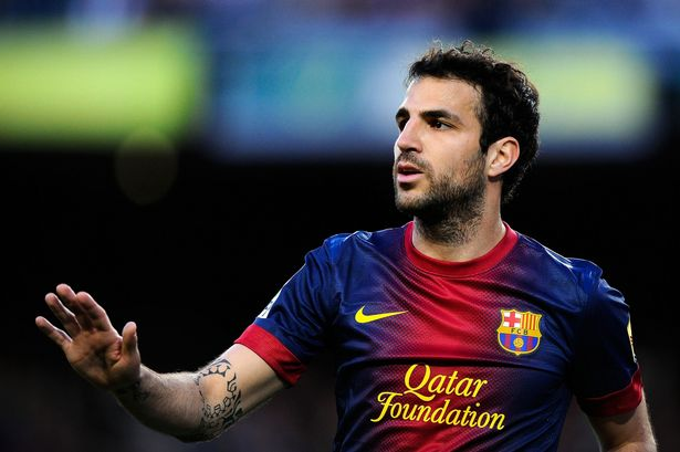 Bringing Cesc-y back: Manchester United will have one more go with a £34million bid