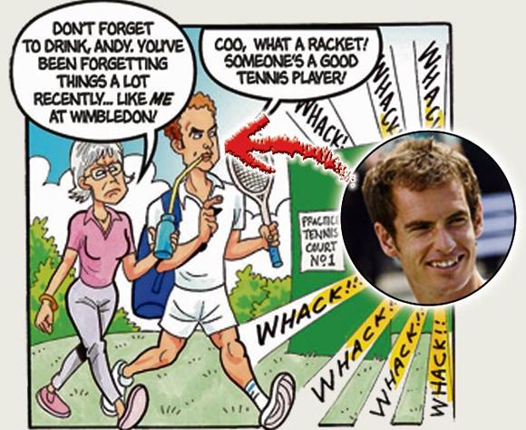Andy Murray và mẹ là bà Judy