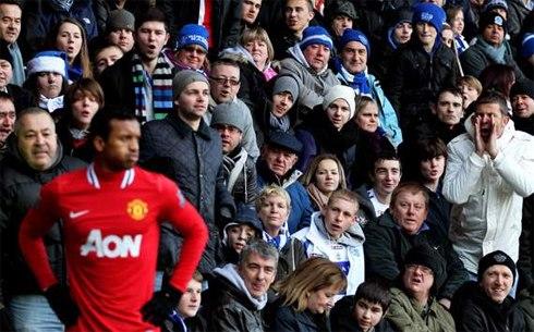 Nani giờ chỉ còn là cái bóng mờ ở Man Utd.