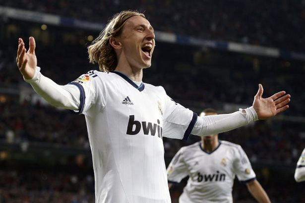 I'm here! Luka Modric could be Manchester United's next port of call if their final Fabregas bid fails Helios de la Rubia