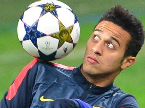 Ngày Thiago rời Barca có lẽ đã rất gần.