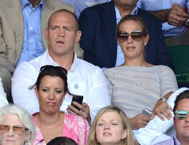 Cặp đôi Hoàng gia, Mike Tindall và Zara Phillips.