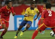 Vietnam 1 Arsenal 7: Giroud scores first half hat-trick as Gunners reach seventh heaven in Hanoi