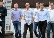 Beckham, Giggs, Butt, Scholes and the Nevilles paint the town red as the class of '92 are re-United