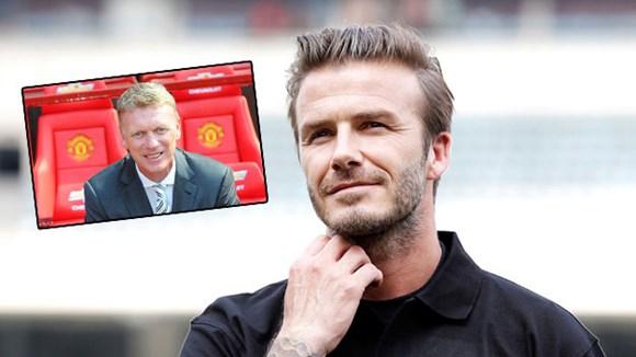 Beckham tin M.U sẽ thành công dưới triều đại mới của Moyes