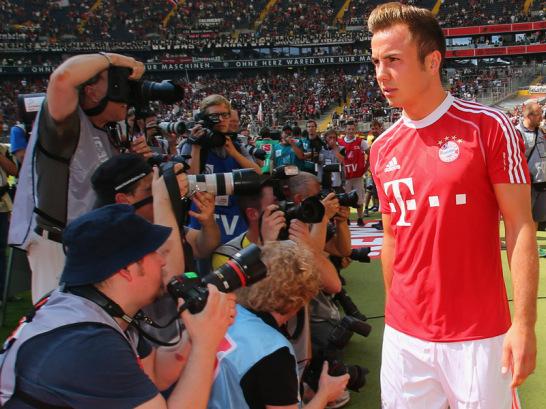 Mario Gotze gia nhập Bayern hồi tháng 6 với giá 38 triệu euro.
