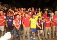 'Running man' giao lưu với CĐV Arsenal tại Quảng Châu