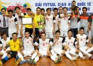 Việt Nam đăng cai tổ chức vòng loại giải Futsal châu Á 2014- khu vực Đông Á